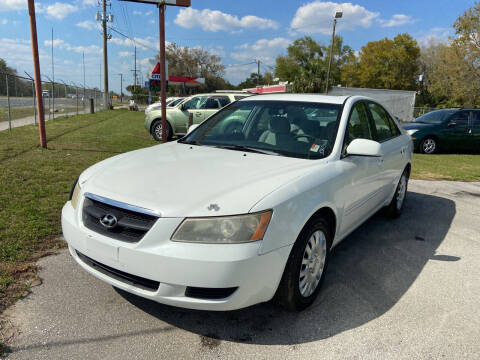 2008 Hyundai Sonata for sale at Massey Auto Sales in Mulberry FL