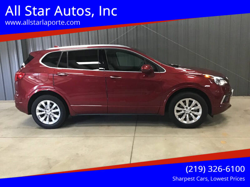2017 Buick Envision for sale at All Star Autos, Inc in La Porte IN