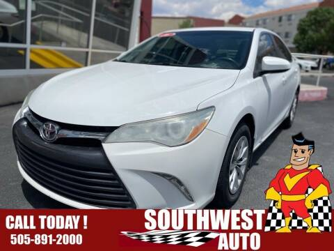 2016 Toyota Camry for sale at SOUTHWEST AUTO in Albuquerque NM