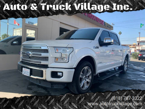 2016 Ford F-150 for sale at Auto & Truck Village Inc. in Van Nuys CA