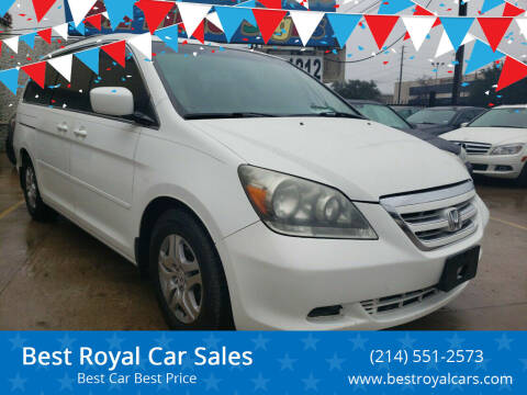 2007 Honda Odyssey for sale at Best Royal Car Sales in Dallas TX