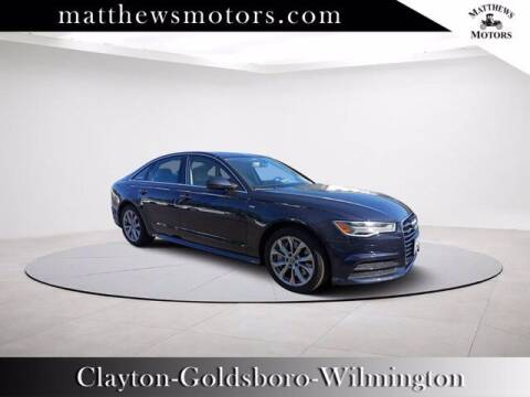 2018 Audi A6 for sale at Auto Finance of Raleigh in Raleigh NC