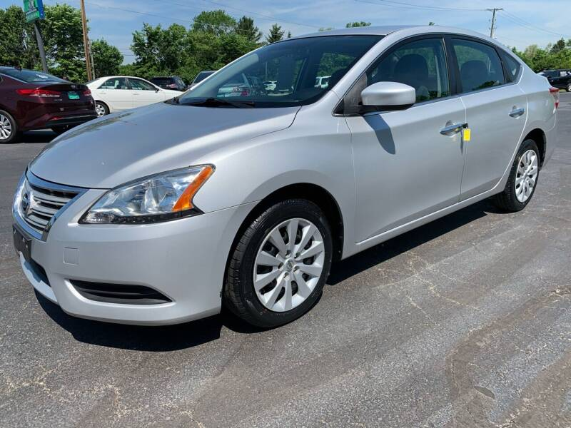 2014 Nissan Sentra for sale at FREDDY'S BIG LOT in Delaware OH