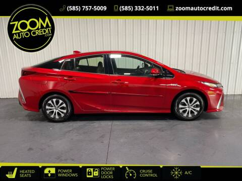 2020 Toyota Prius Prime for sale at ZoomAutoCredit.com in Elba NY