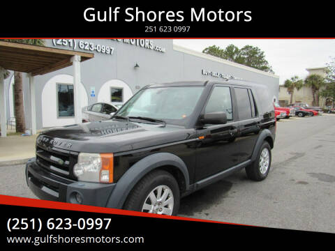 2006 Land Rover LR3 for sale at Gulf Shores Motors in Gulf Shores AL