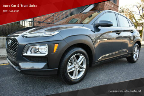 2019 Hyundai Kona for sale at Apex Car & Truck Sales in Apex NC
