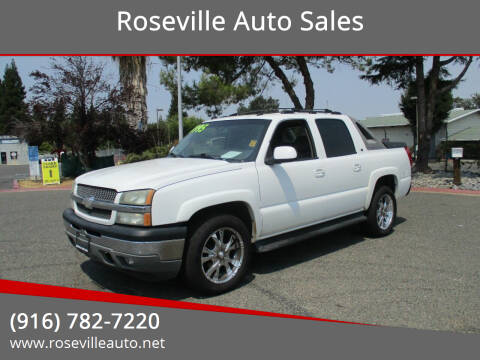 2005 Chevrolet Avalanche for sale at Roseville Auto Sales in Roseville CA