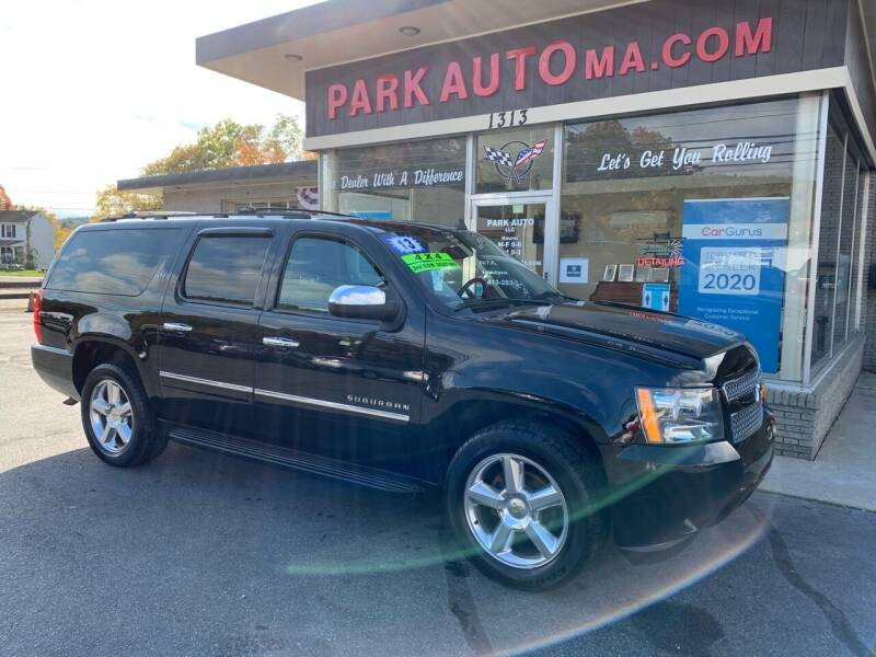 2013 Chevrolet Suburban for sale at Park Auto LLC in Palmer MA