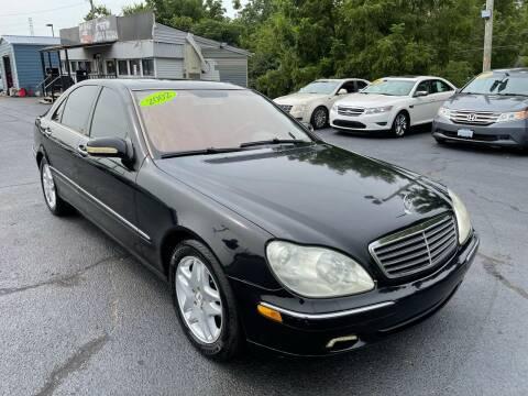 2002 Mercedes-Benz S-Class for sale at LexTown Motors in Lexington KY