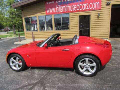 2007 Pontiac Solstice for sale at Bill Smith Used Cars in Muskegon MI