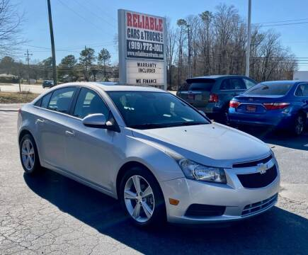 2014 Chevrolet Cruze for sale at Reliable Cars & Trucks LLC in Raleigh NC