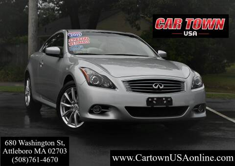 2011 Infiniti G37 Coupe for sale at Car Town USA in Attleboro MA