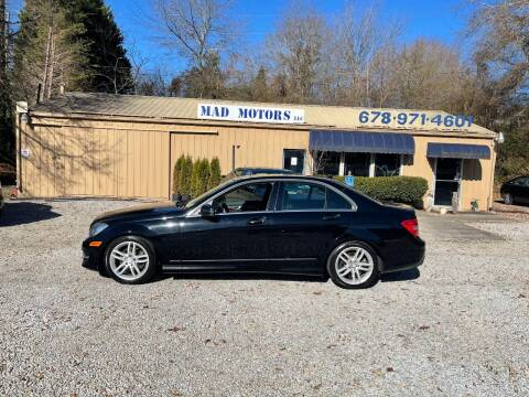 2012 Mercedes-Benz C-Class for sale at Mad Motors LLC in Gainesville GA