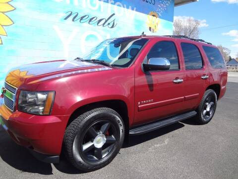 2007 Chevrolet Tahoe for sale at FINISH LINE AUTO SALES in Idaho Falls ID