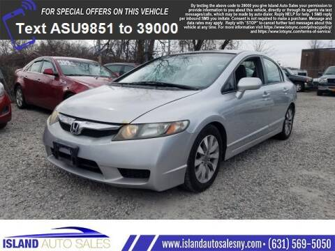 2011 Honda Civic for sale at Island Auto Sales in East Patchogue NY
