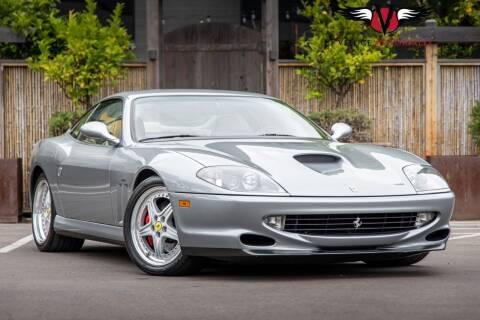 2001 Ferrari 550 for sale at Veloce Motorsales in San Diego CA