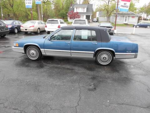 1993 Cadillac DeVille for sale at Buyers Choice Auto Sales in Bedford OH