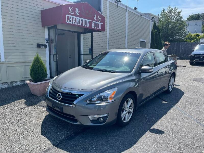 2015 Nissan Altima for sale at Champion Auto LLC in Quincy MA