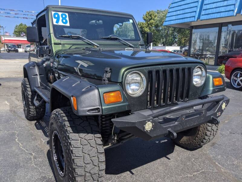 1998 Jeep Wrangler for sale at GREAT DEALS ON WHEELS in Michigan City IN