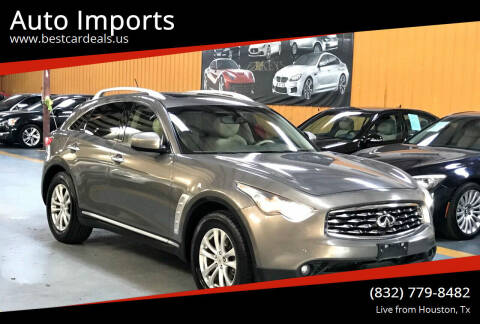 2011 Infiniti FX35 for sale at Auto Imports in Houston TX