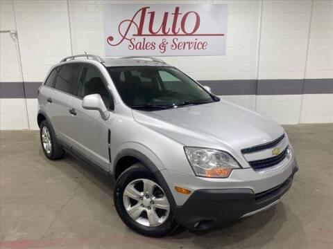2013 Chevrolet Captiva Sport for sale at Auto Sales & Service Wholesale in Indianapolis IN
