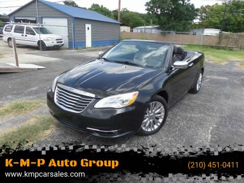 2011 Chrysler 200 Convertible for sale at K-M-P Auto Group in San Antonio TX