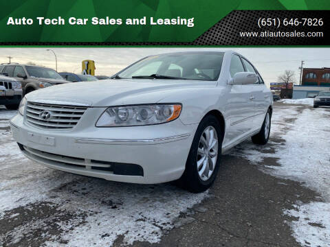 2008 Hyundai Azera for sale at Auto Tech Car Sales and Leasing in Saint Paul MN