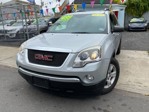 2010 GMC Acadia for sale at Best Cars R Us LLC in Irvington NJ