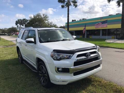 2014 Toyota 4Runner for sale at FLORIDA CAR TRADE LLC in Davie FL