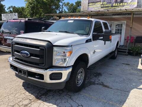 2013 Ford F-350 Super Duty for sale at Lion Auto Finance in Houston TX