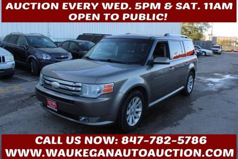 2012 Ford Flex for sale at Waukegan Auto Auction in Waukegan IL