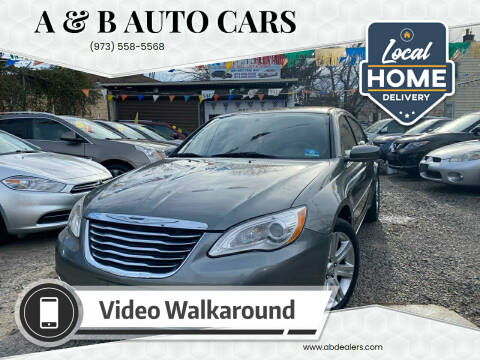 2013 Chrysler 200 for sale at A & B Auto Cars in Newark NJ