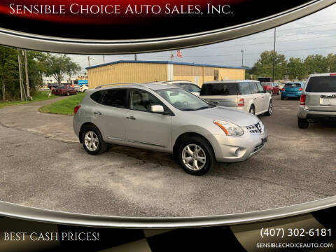 2011 Nissan Rogue for sale at Sensible Choice Auto Sales, Inc. in Longwood FL