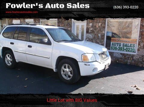 2009 GMC Envoy for sale at Fowler's Auto Sales in Pacific MO