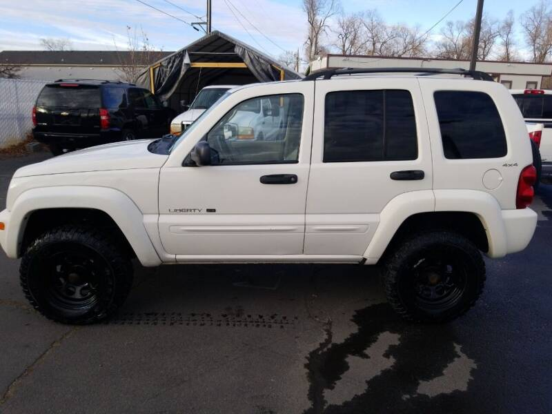 2002 Jeep Liberty for sale at Freds Auto Sales LLC in Carson City NV