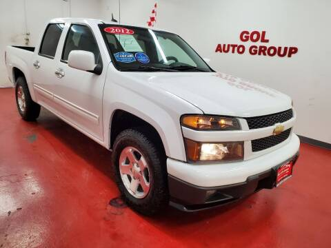 2012 Chevrolet Colorado for sale at GOL Auto Group in Austin TX