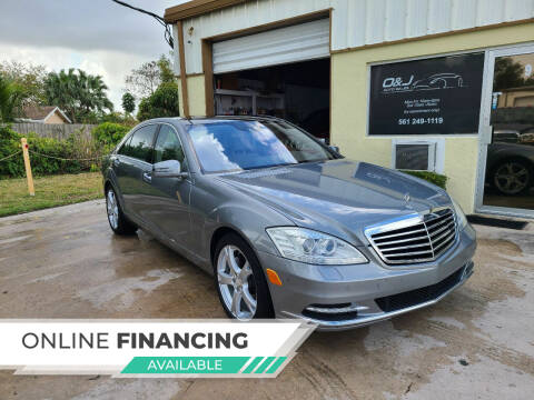 2011 Mercedes-Benz S-Class for sale at O & J Auto Sales in Royal Palm Beach FL