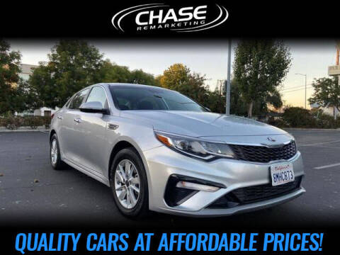 2019 Kia Optima for sale at Chase Remarketing in Fremont CA