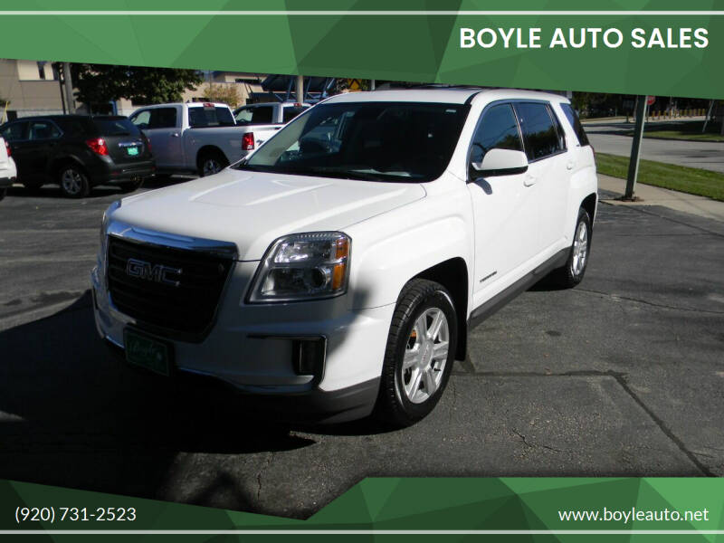 2016 GMC Terrain for sale at Boyle Auto Sales in Appleton WI
