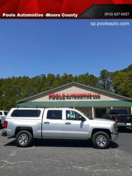2015 Chevrolet Silverado 1500 for sale at Poole Automotive in Laurinburg NC