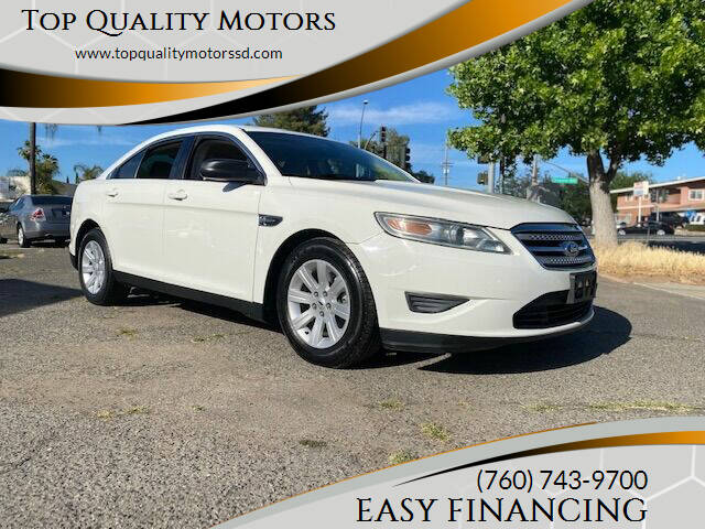 2011 Ford Taurus for sale at Top Quality Motors in Escondido CA