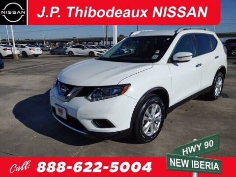 2016 Nissan Rogue for sale at J P Thibodeaux Used Cars in New Iberia LA