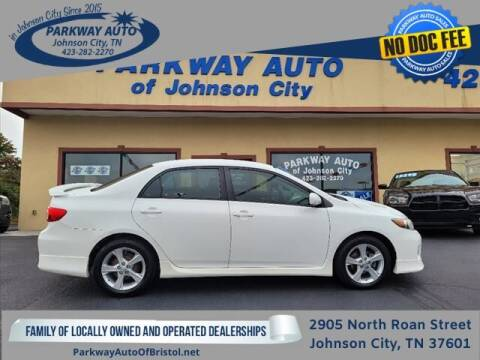 2013 Toyota Corolla for sale at PARKWAY AUTO SALES OF BRISTOL - PARKWAY AUTO JOHNSON CITY in Johnson City TN