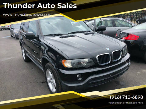 2003 BMW X5 for sale at Thunder Auto Sales in Sacramento CA