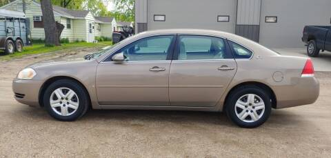 2007 Chevrolet Impala for sale at SS Auto Sales in Brookings SD