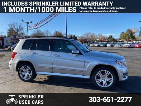 2015 Mercedes-Benz GLK for sale at Sprinkler Used Cars in Longmont CO