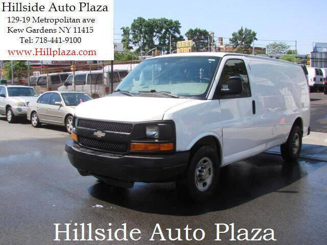 2013 Chevrolet Express Cargo for sale at Hillside Auto Plaza in Kew Gardens NY