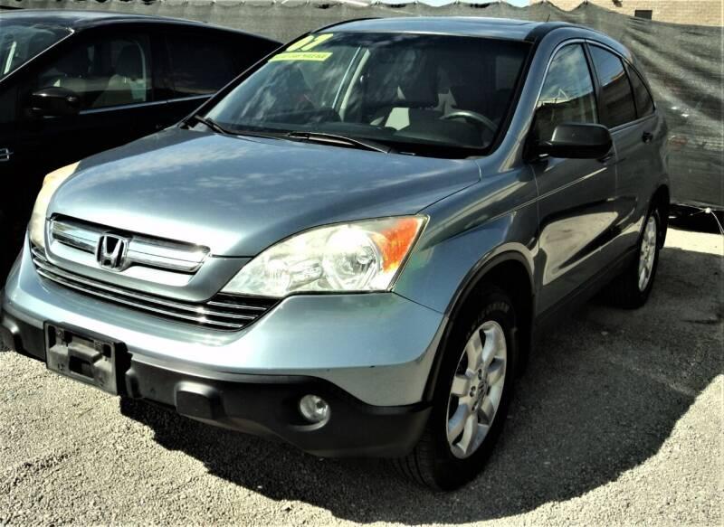 2007 Honda CR-V for sale at DESERT AUTO TRADER in Las Vegas NV