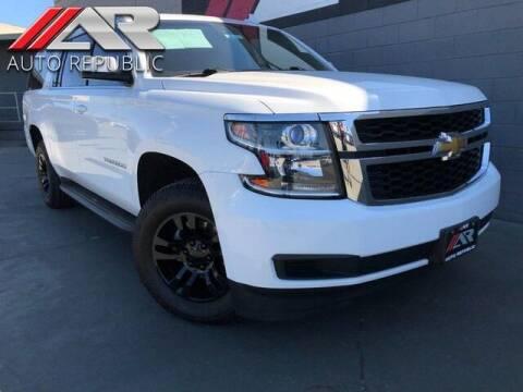 2015 Chevrolet Suburban for sale at Auto Republic Fullerton in Fullerton CA