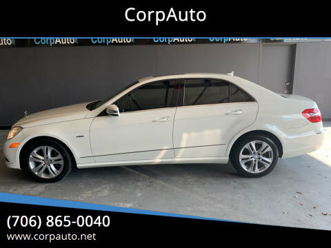 2011 Mercedes-Benz E-Class for sale at CorpAuto in Cleveland GA